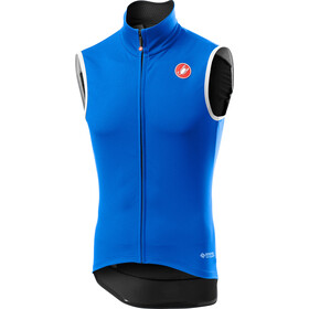 Castelli Perfetto Rain Or Shine Vest Men drive blue